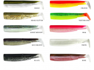 FIIISH BLACK MINNOW BODY #1 70mm